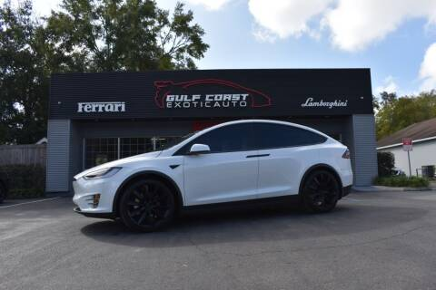 2019 Tesla Model X for sale at Gulf Coast Exotic Auto in Biloxi MS