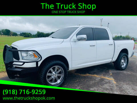 2013 RAM Ram Pickup 1500 for sale at The Truck Shop in Okemah OK