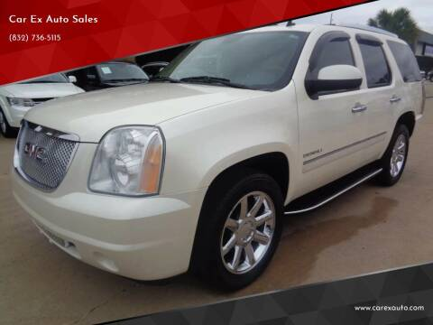 2010 GMC Yukon for sale at Car Ex Auto Sales in Houston TX