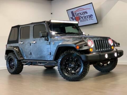 2007 Jeep Wrangler Unlimited for sale at Texas Prime Motors in Houston TX