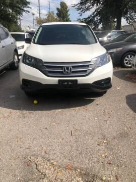 2012 Honda CR-V for sale at ATLANTIC MOTORS GP LLC in Houston TX