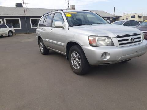 2006 Toyota Highlander for sale at COMMUNITY AUTO in Fresno CA