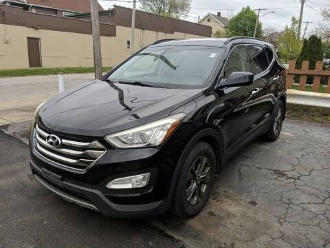 2013 Hyundai Santa Fe Sport for sale at Richland Motors in Cleveland OH