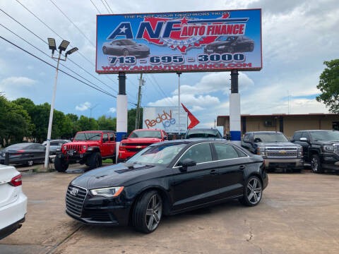 2015 Audi A3 for sale at ANF AUTO FINANCE in Houston TX