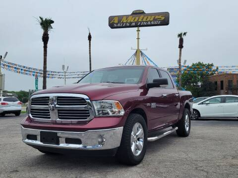 2018 RAM Ram Pickup 1500 for sale at A MOTORS SALES AND FINANCE - 5630 San Pedro Ave in San Antonio TX