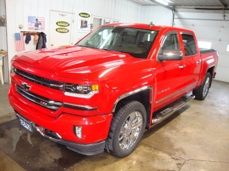 2017 Chevrolet Silverado 1500 for sale at Ditsworth Auto Sales in Bancroft IA