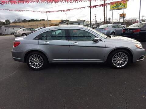 2013 Chrysler 200 for sale at Kenny's Auto Sales Inc. in Lowell NC