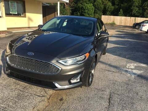 2020 Ford Fusion for sale at Beach Cars in Fort Walton Beach FL