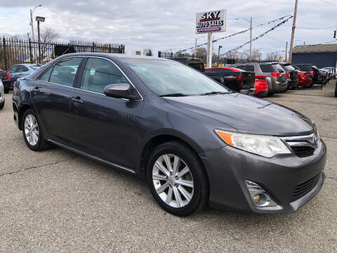 2012 Toyota Camry for sale at SKY AUTO SALES in Detroit MI