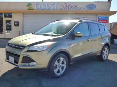 2013 Ford Escape for sale at Coast Motors in Arroyo Grande CA