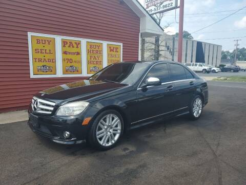 2008 Mercedes-Benz C-Class for sale at Mack's Autoworld in Toledo OH