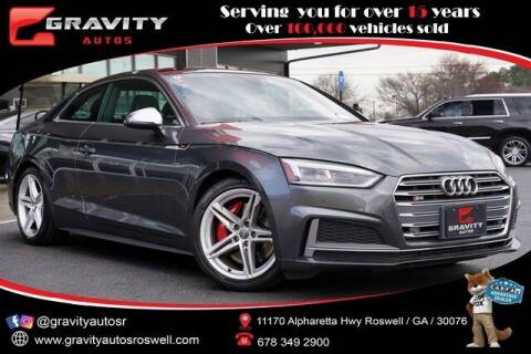 2018 Audi S5 for sale at Gravity Autos Roswell in Roswell GA