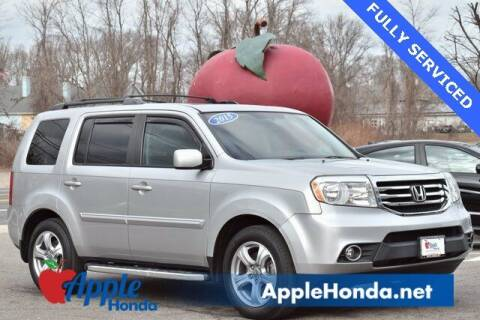2015 Honda Pilot for sale at APPLE HONDA in Riverhead NY