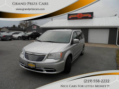 2011 Chrysler Town and Country for sale at Grand Prize Cars in Cedar Lake IN