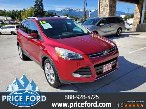 2014 Ford Escape for sale at Price Ford Lincoln in Port Angeles WA