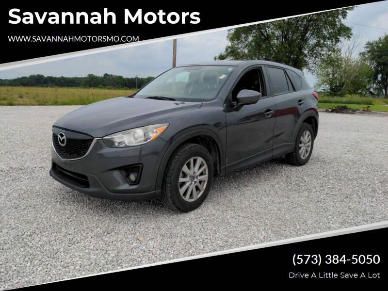 2015 Mazda CX-5 for sale at Savannah Motors in Elsberry MO