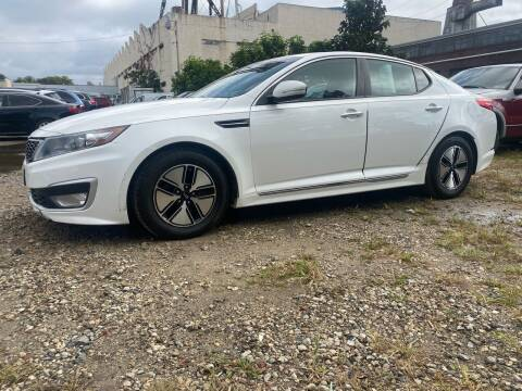 2011 Kia Optima Hybrid for sale at Philadelphia Public Auto Auction in Philadelphia PA