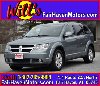 2010 Dodge Journey for sale at Will's Fair Haven Motors in Fair Haven VT