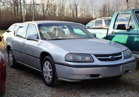 2003 Chevrolet Impala for sale at PINNACLE ROAD AUTOMOTIVE LLC in Moraine OH