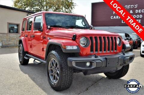 2018 Jeep Wrangler Unlimited for sale at LAKESIDE MOTORS, INC. in Sachse TX