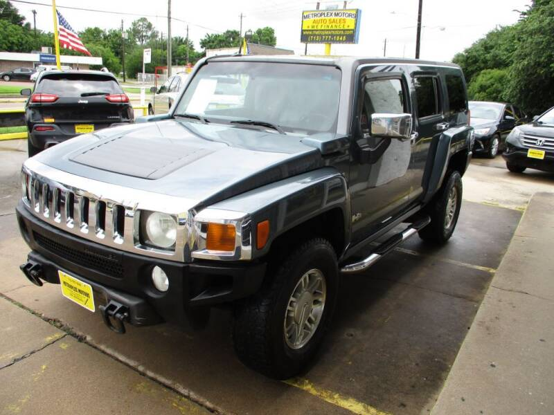 2006 HUMMER H3 for sale at Metroplex Motors Inc. in Houston TX