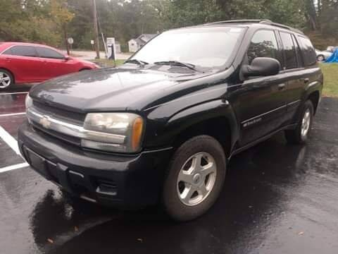 2002 Chevrolet TrailBlazer for sale at Happy Days Auto Sales in Piedmont SC