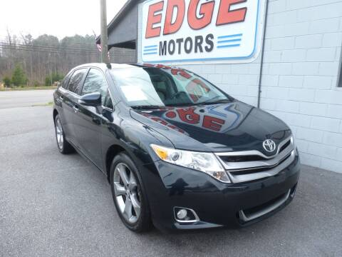 2013 Toyota Venza for sale at Edge Motors in Mooresville NC