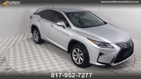 2018 Lexus RX 350 for sale at Excellence Auto Direct in Euless TX
