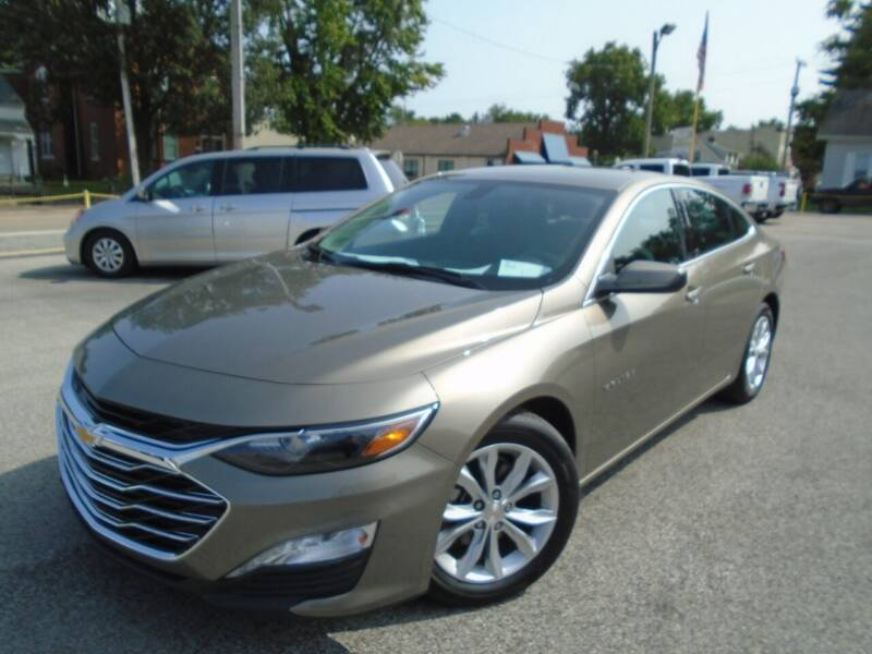 2020 Chevrolet Malibu for sale at Total Eclipse Auto Sales & Service in Red Bud IL