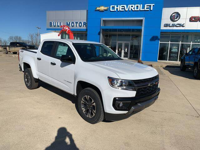 2021 Chevrolet Colorado for sale at BULL MOTOR COMPANY in Wynne AR