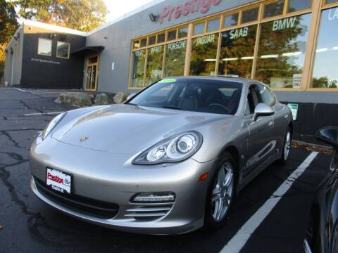 2010 Porsche Panamera for sale at Prestige Motorcars in Warwick RI