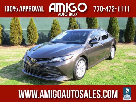 2018 Toyota Camry for sale at Amigo Auto Sales in Marietta GA