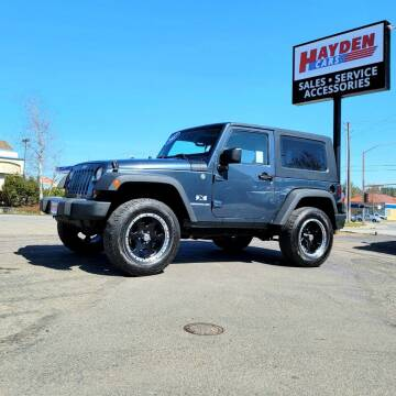 2007 Jeep Wrangler for sale at Hayden Cars in Coeur D Alene ID