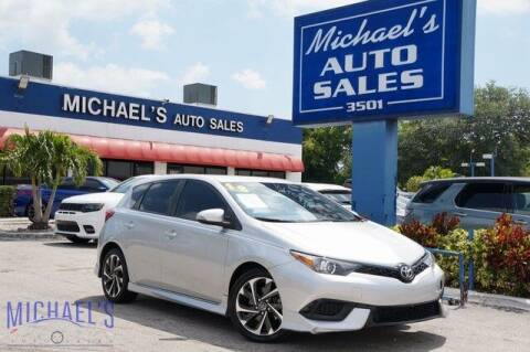 2018 Toyota Corolla iM for sale at Michael's Auto Sales Corp in Hollywood FL