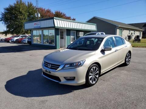 2015 Honda Accord for sale at RT Auto Center Missouri in Palmyra MO