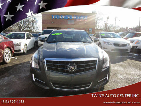2013 Cadillac ATS for sale at Twin's Auto Center Inc. in Detroit MI