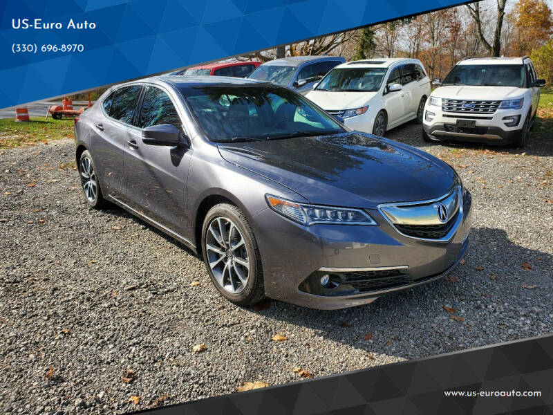2017 Acura TLX for sale at US-Euro Auto in Burton OH