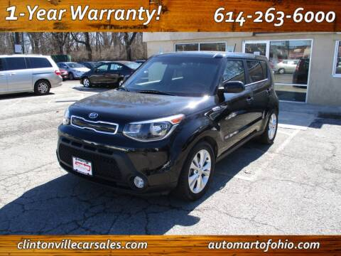 2015 Kia Soul for sale at Clintonville Car Sales - AutoMart of Ohio in Columbus OH