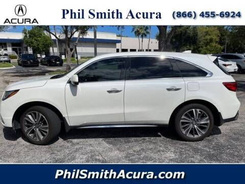 2019 Acura MDX for sale at PHIL SMITH AUTOMOTIVE GROUP - Phil Smith Acura in Pompano Beach FL