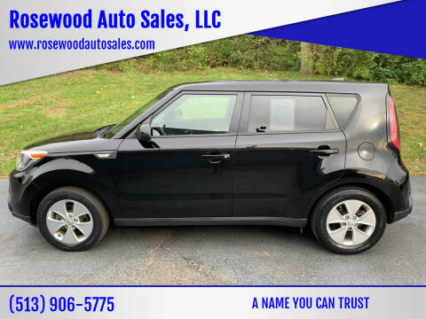 2014 Kia Soul for sale at Rosewood Auto Sales, LLC in Hamilton OH