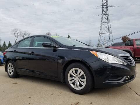 2011 Hyundai Sonata for sale at CarNation Auto Group in Alliance OH