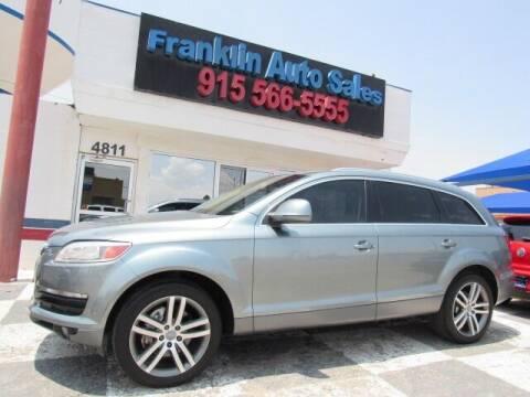 2007 Audi Q7 for sale at Franklin Auto Sales in El Paso TX