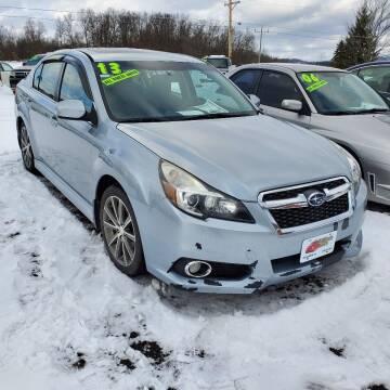 2013 Subaru Legacy for sale at ALL WHEELS DRIVEN in Wellsboro PA