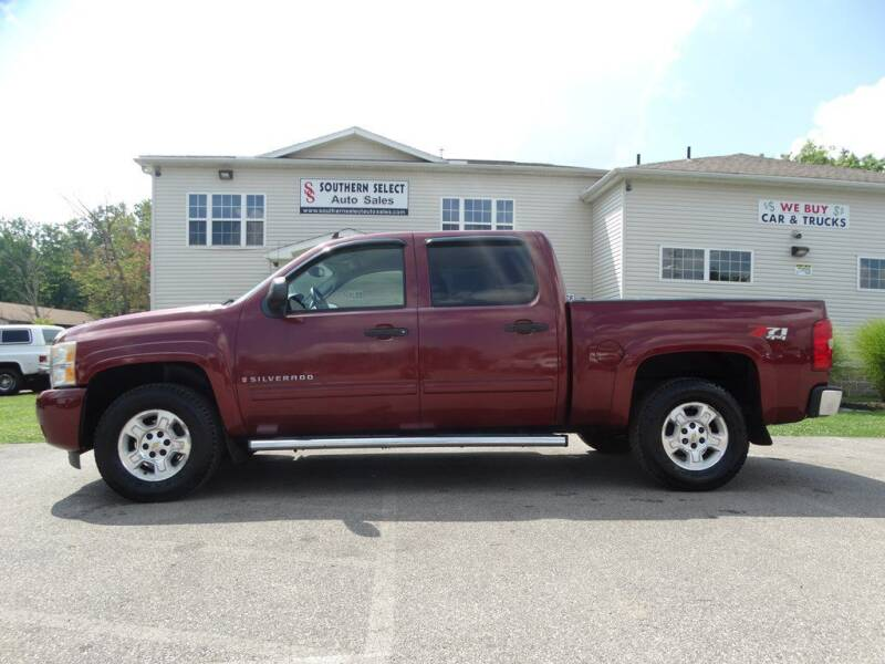 2009 Chevrolet Silverado 1500 for sale at SOUTHERN SELECT AUTO SALES in Medina OH