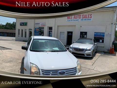 2006 Ford Fusion for sale at Nile Auto Sales in Greensboro NC