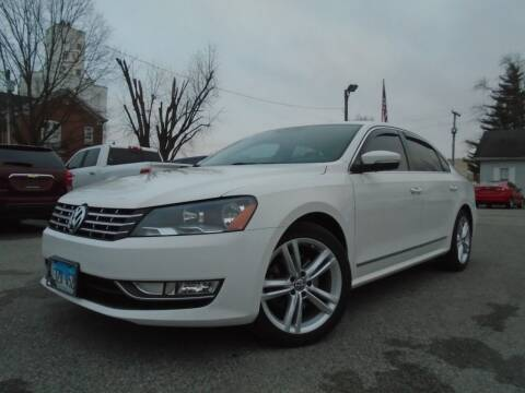 2014 Volkswagen Passat for sale at Total Eclipse Auto Sales & Service in Red Bud IL