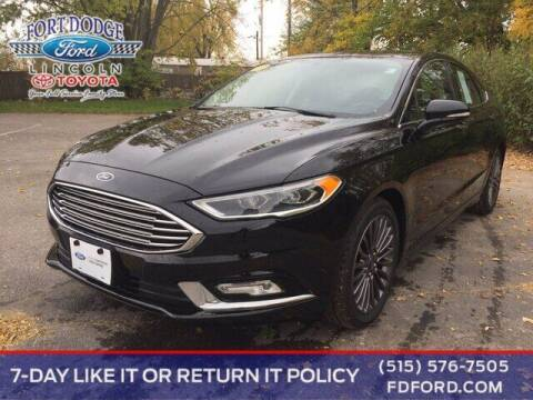 2017 Ford Fusion for sale at Fort Dodge Ford Lincoln Toyota in Fort Dodge IA