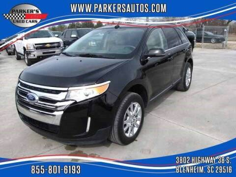 2012 Ford Edge for sale at Parker's Used Cars in Blenheim SC