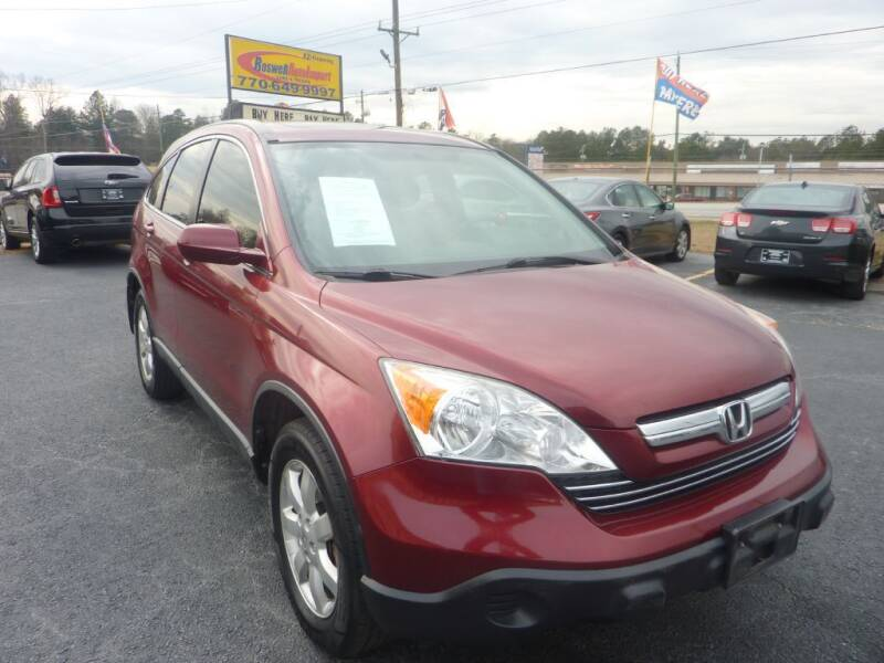 2008 Honda CR-V for sale at Roswell Auto Imports in Austell GA