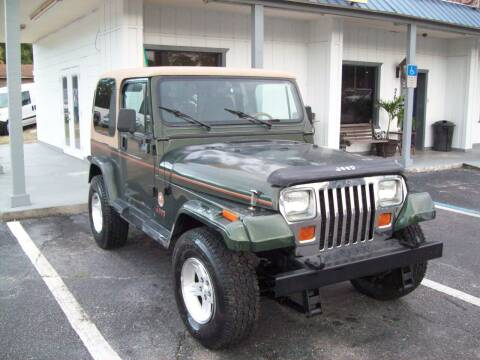 1995 Jeep Wrangler for sale at LONGSTREET AUTO in St Augustine FL